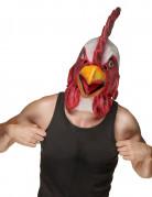 Masque latex tête de coq adulte