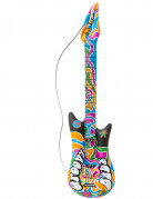 Guitare gonflable hippie 105 cm