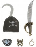 Kit de pirate en plastique crochet Enfant
