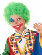 Perruque clown enfant verte