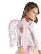Ailes ange roses 40 x 33 cm enfant