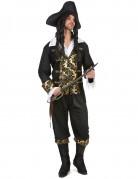 Déguisement pirate à motif homme