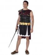 Déguisement gladiateur Romain noir et doré homme