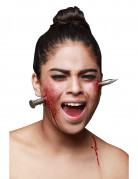 Fausse blessure clou géant adulte Halloween