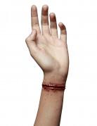 Fausse blessure poignet tranché adulte Halloween