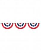 Guirlande en plastique demi cercle USA 3,66 m