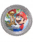 8 Assiettes carton Super Mario ™