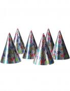 Vous aimerez aussi : 6 Chapeaux de fête holographiques étoiles