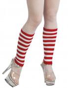 Vous aimerez aussi : Jambières rayées rouges et blanches adulte