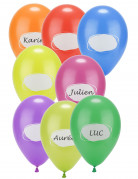 Vous aimerez aussi : 8 Ballons en latex à personnaliser 30 cm