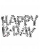 Vous aimerez aussi : Ballon aluminium lettres Happy Birthday argent 76 cm
