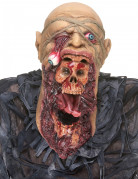 Masque latex zombie dévoreur adulte