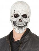 Masque latex squelette moqueur adulte
