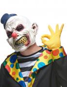 Masque latex clown hideux adulte
