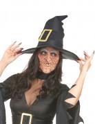 Vous aimerez aussi : Demi masque latex nez et menton sorcière adulte