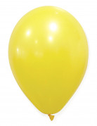 50 Ballons jaunes 30 cm