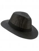 Chapeau Panama luxe gris adulte