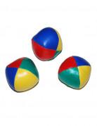 3 Balles jonglage colorées 6 cm