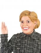 Masque humoristique en latex Reine Maxima adulte