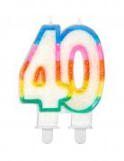 Vous aimerez aussi : Bougie d'anniversaire chiffre 40