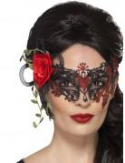 Vous aimerez aussi : Loup dentelle noir et rouge femme Dia de los muertos