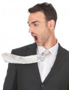 Vous aimerez aussi : Cravate blanche à sequins adulte