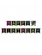 Guirlande Happy birthday Glow Party 270 cm