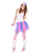 Vous aimerez aussi : Déguisement de licorne multicolore femme