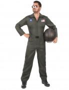 Déguisement de pilote d'avion avec lunettes homme