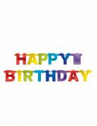 Vous aimerez aussi : Guirlande Happy Birthday multicolore 219 cm