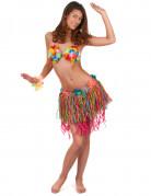 Vous aimerez aussi : Jupe hawaïenne courte multicolore avec fleurs adulte