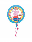 Ballon aluminium Happy Birthday Peppa Pig™ 43 cm
