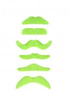 Vous aimerez aussi : 1 Moustache vert fluo adulte