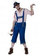 Vous aimerez aussi : Déguisement zombie bavarois bleu homme