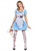 Déguisement Alice ensanglantée femme