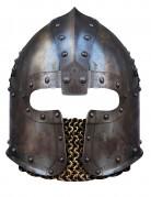 Masque carton casque de Normand