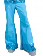 Vous aimerez aussi : Pantalon disco bleu avec sequins sur le bas homme