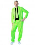 Costume fashion vert fluo adulte