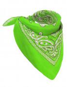 Bandana vert fluo adulte