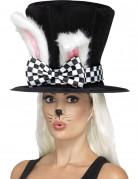 Chapeau haut de forme lapin adulte