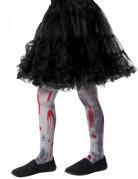 Collants ensanglantés zombie enfant Halloween