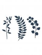 Vous aimerez aussi : 9 Décorations de table feuilles bleu marine 16 cm