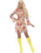 Vous aimerez aussi : Déguisement hippie flower orange femme
