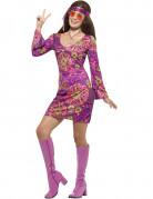 Vous aimerez aussi : Déguisement hippie flower violet femme