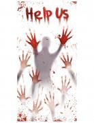 Vous aimerez aussi : Décoration sanglante Help us pour porte Halloween