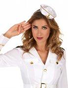 Vous aimerez aussi : Serre-tête mini chapeau marin blanc femme