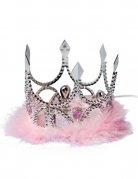 Vous aimerez aussi : Couronne de princesse argent et rose