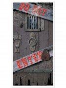 Décoration pour porte Do Not Enter 76x152cm halloween