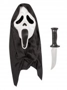 Masque et couteau Scream™ Halloween adulte