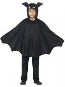 Déguisement poncho chauve-souris noir enfant Halloween
